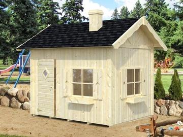 Medinis namelis vaikams Grete su antresole 3,7 m²