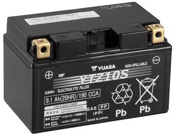 Аккумулятор Yuasa YTZ10S, 12 В, 9.1 Ач, 190 а