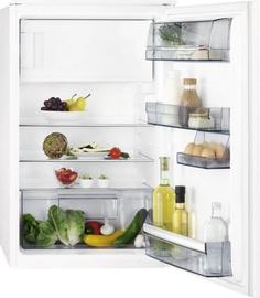 Встраиваемый холодильник AEG SFB688F1AS, морозильник сверху