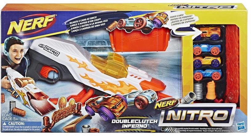 Hasbro Nerf Nitro DoubleClutch Inferno E0858