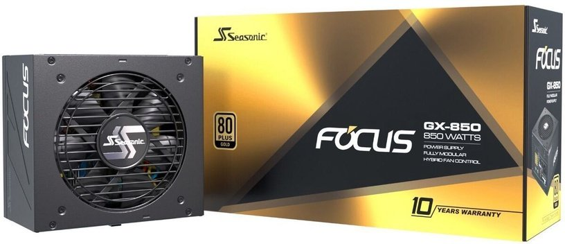 Seasonic Focus GX Series PSU 850W