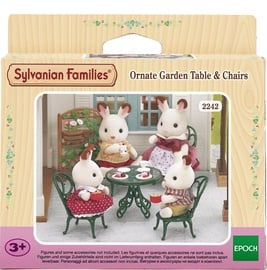 Epoch Sylvanian Families Ornate Garden Table & Chairs 2242