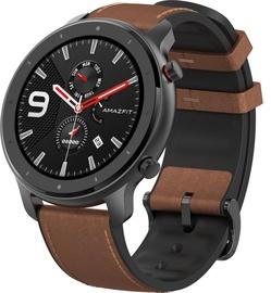 Išmanusis laikrodis Amazfit GTR, ruda/juoda