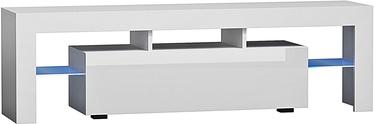 TV staliukas Pro Meble Milano 130 White, 1300x350x450 mm