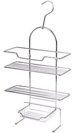 Axentia Escala Bathroom Wall Shelf 3-Tier Universal