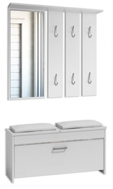 Top E Shop Roma Hall Unit Set White