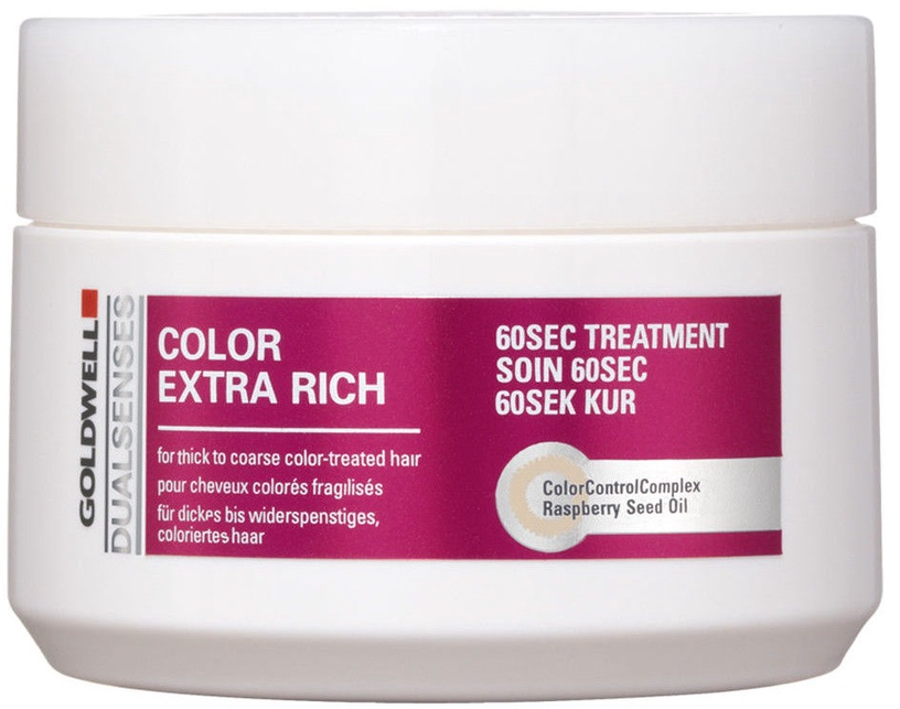 Goldwell Dualsenses Color Extra Rich 60 Sec Treatment 200ml Hair Mask