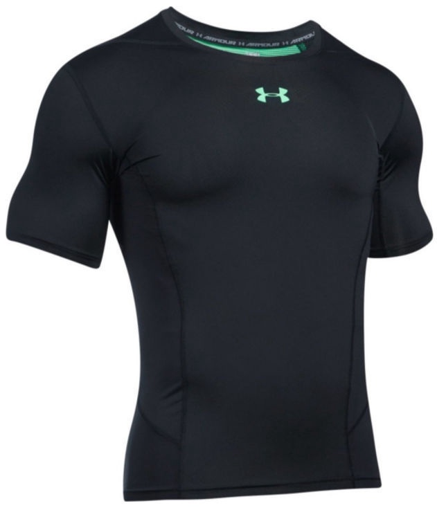 Under Armour Compression Shirt Heatgear Supervent 2.0 1289557-003 Black M