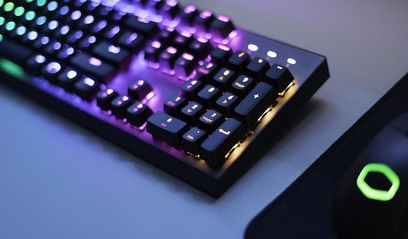 Игровая клавиатура Cooler Master CK350 Outemu Red EN
