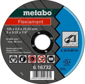 Metabo Flexiamant 125x2.5x22.23mm Steel TF 41