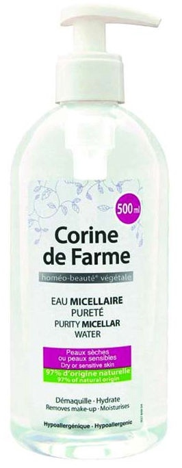 Makiažo valiklis Corine de Farme Micellar Water, 500 ml