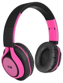 Ausinės ART AP-B04 Black/Pink, belaidės