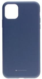 Mercury Fiber Soft Touch Matte Back Case For Apple iPhone 11 Pro Max Lavander Grey