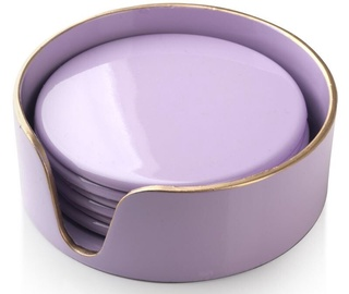 Кухонная подставка Mondex Blanche Colors Coasters Purple 6pcs