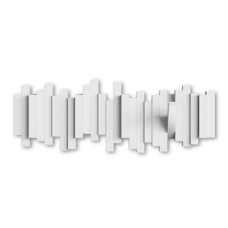 Drabužių kabykla Umbra Sticks, balta