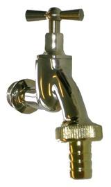 "Benkiser 7201270 Bib Tap 1/2"" w/ 3/4"" Hose Connection Brass"