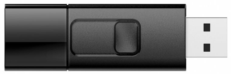 USB atmintinė Silicon Power Ultima U05 Black, USB 2.0, 4 GB