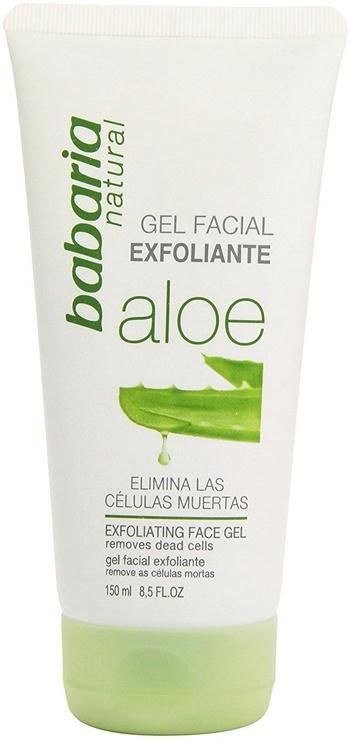 Veido odos šveitiklis Babaria Aloe Vera Exfoliating Face Gel, 150 ml
