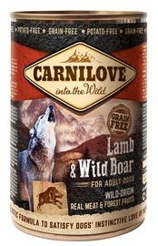 Carnilove Adult Dog Wild-Origin Real Meat Lamb & Wild Boar 400g