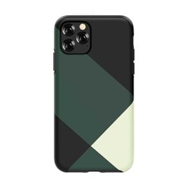 Devia Simple Style Grid Back Case For Apple iPhone 11 Pro Max Green