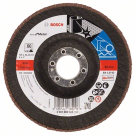 Žiedlapinis šlifavimo diskas Bosch, 125x22.23