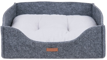 Amiplay Hygge Dog Sofa 2in1 Gray L 60x48x18cm