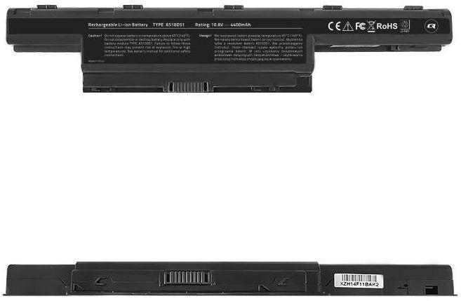 Qoltec Notebook Battery Acer Aspire AS10D31 4400mAh