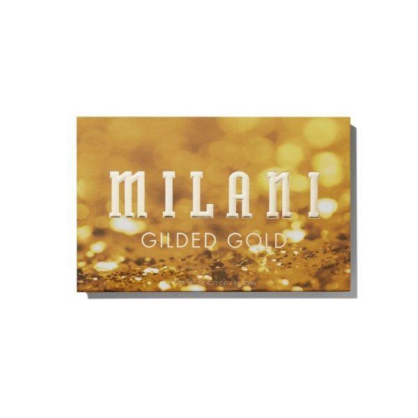 Acu ēnas Milani Gilded Gold Palette, 9 g