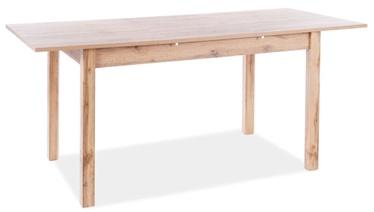 Обеденный стол Signal Meble Scandinavian Horacy, дубовый, 1400x600x750мм