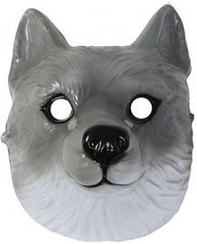 Maska Wolf, pelēka, 220 mm