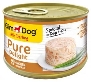 Влажный корм для собак (консервы) Gimborn Gimdog Food Little Darling Pure Delight w/ Chicken In Jelly 150g