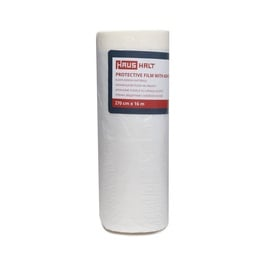 HausHalt Protective Film With Adhesive Tape 270cm 16m