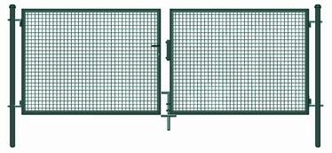 Garden Center Gate 400x150cm Green