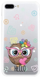 TakeMe Special Design Back Case For Apple iPhone X/XS Cute Owl