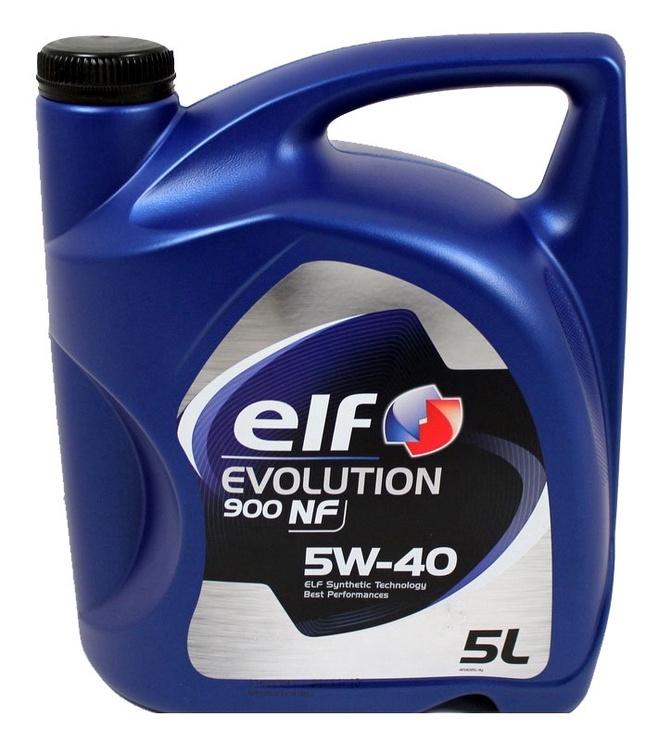 Машинное масло Elf Evolution 900 NF 5W/40 Engine Oil 5l