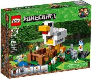 Konstruktorius LEGO®Minecraft 21140 Vištidė