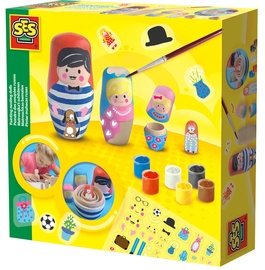 SES Creative Painting Nesting Dolls 14002