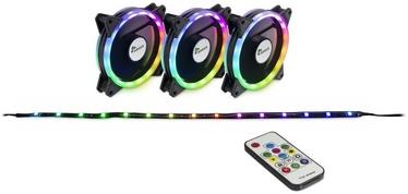 Inter-Tech Fan Set Argus RS-04 RGB