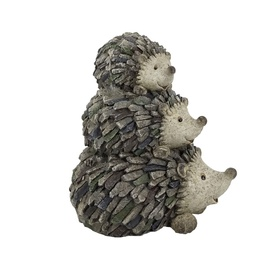 Hedgehog Family Decoration
