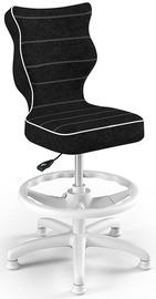 Krēsls Entelo Petit Black HC+F Size 3 Children Chair VS01 White/Black