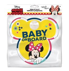 Наклейка на машину Disney Minnie 9613