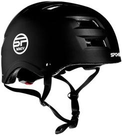 Шлем Spokey Ninja, черный, 480 - 520 мм
