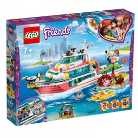 Konstruktorius Lego Friends Rescue Mission Boat 41381