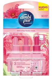 Ambi Pur 3Volution Refill For Electric Air Freshener 21ml Flowers Rose