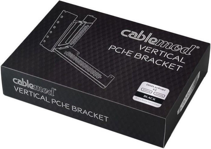 CableMod Vertical Graphics Card Holder With PCIe/2xDisplayPort