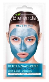 Bielenda Blue Detox Detoxifying Face Mask For Dry And Sensitive Skin 8g