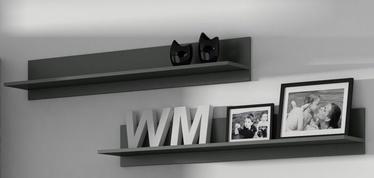 Cama Meble Soho 125 Shelves Grey Matte