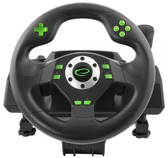 Игровой руль Esperanza Drift Steering Wheel Black
