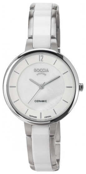 Boccia Titanium Women's Watch 3236-01 White