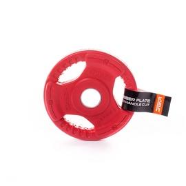 Diskinis svoris grifui LS2123, gumotas, 1,25 kg